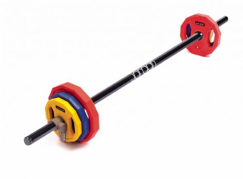 Classic Rubber Studio Barbell Set